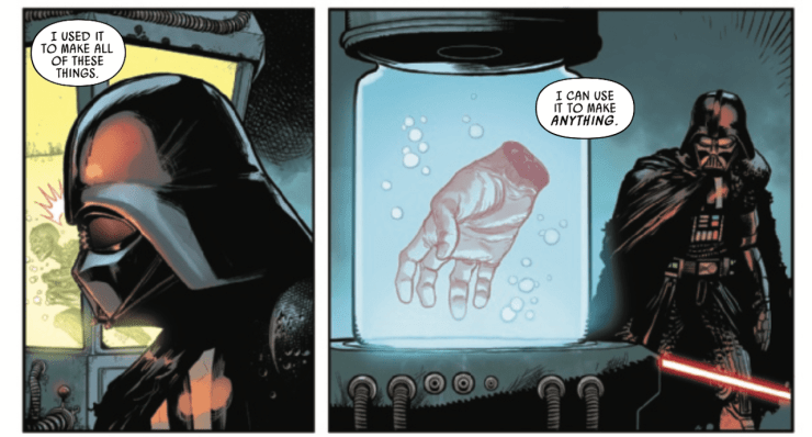 Everything learned about Exegol in 'Star Wars: Darth Vader' #11