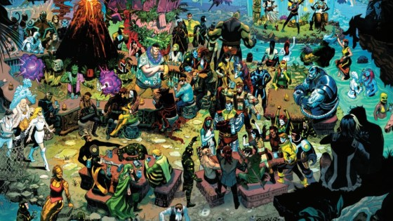 Livin' the minarchist dream: Rethinking X-Men's Krakoa as libertarian haven