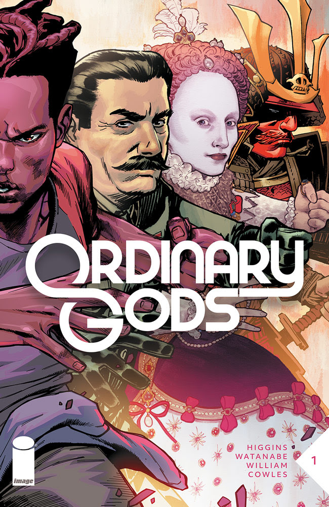 Image launching sci-fi/fantasy 'Ordinary Gods' July 7th