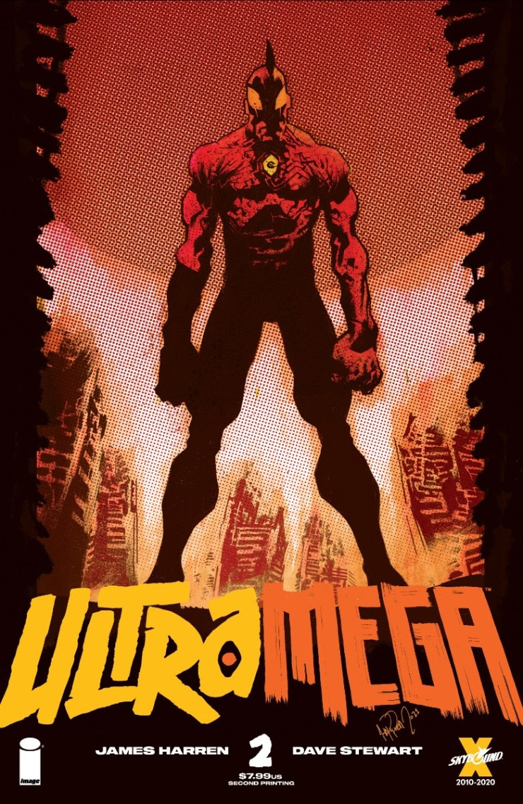 Image announces 'Ultramega' #1 and #2 sell out