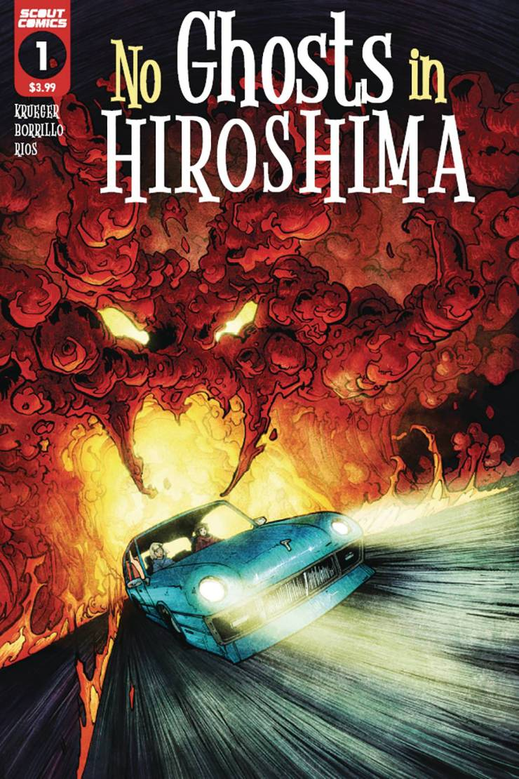 Scout Comics announces 'No Ghosts in Hiroshima' for June 2021
