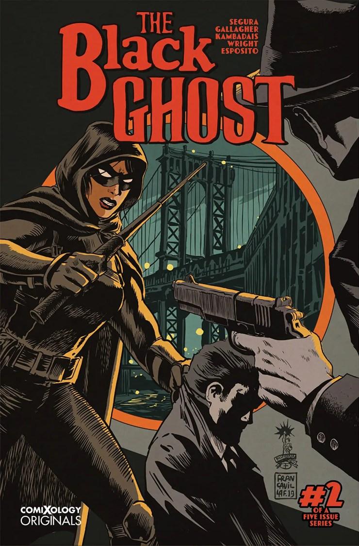 The Black Ghost interview Alex Segura and Monica Gallagher