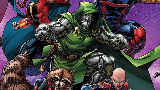 Dr. Doom shares a lot more than ideas in 'Guardians of the Galaxy' #14
