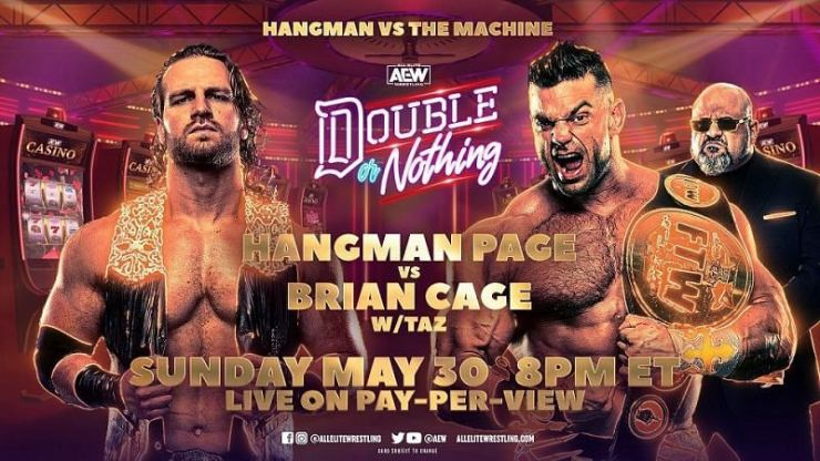 AEW Double or Nothing - Hangman Page vs. Brian Cage
