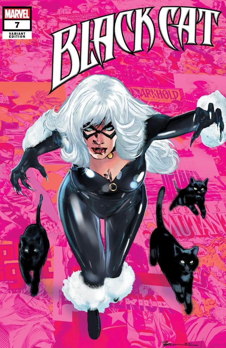 Marvel unveils Phil Jimenez Pride Month 'Black Cat' art