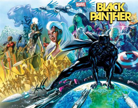 August 2021 Marvel Comics solicitations Black Panther