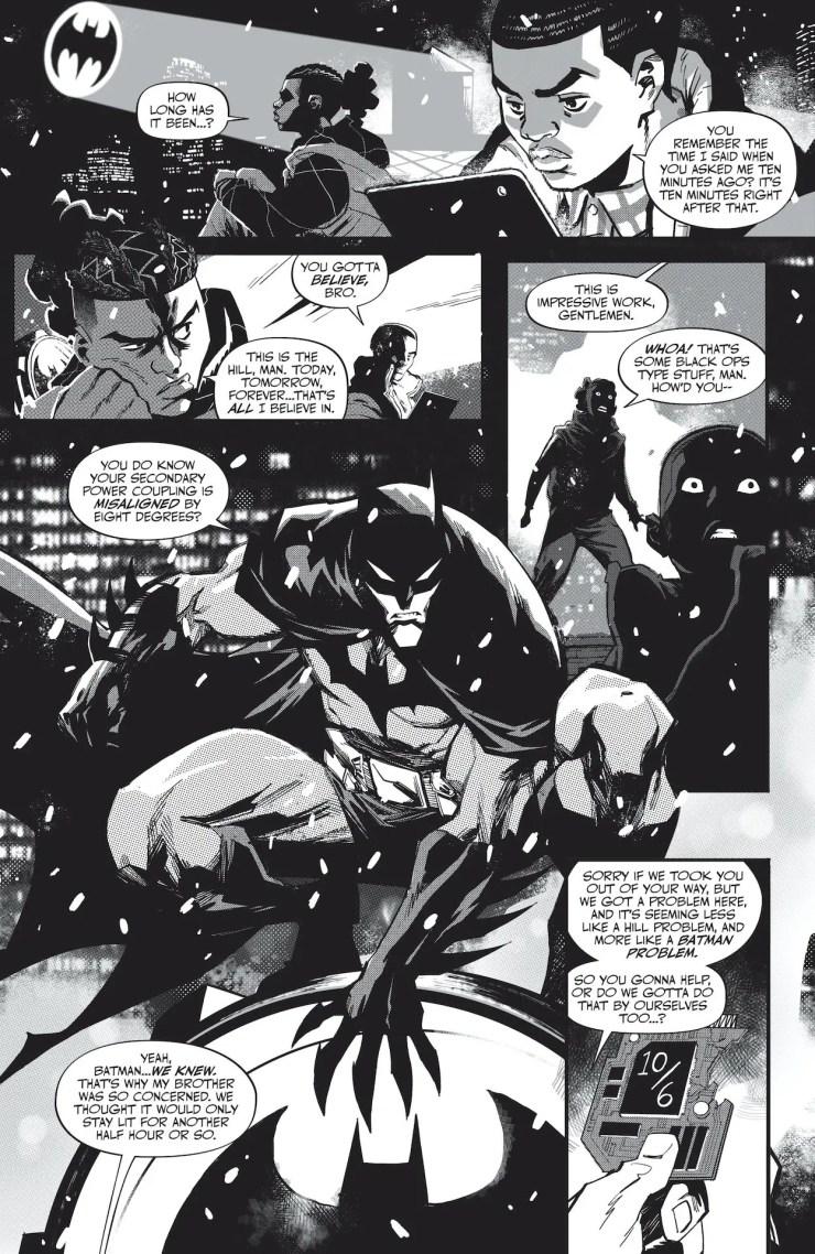 DC Preview: Batman Black & White #6
