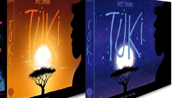 Jeff Smith's new graphic novel 'Tuki' to debut on Kickstarter May 4
