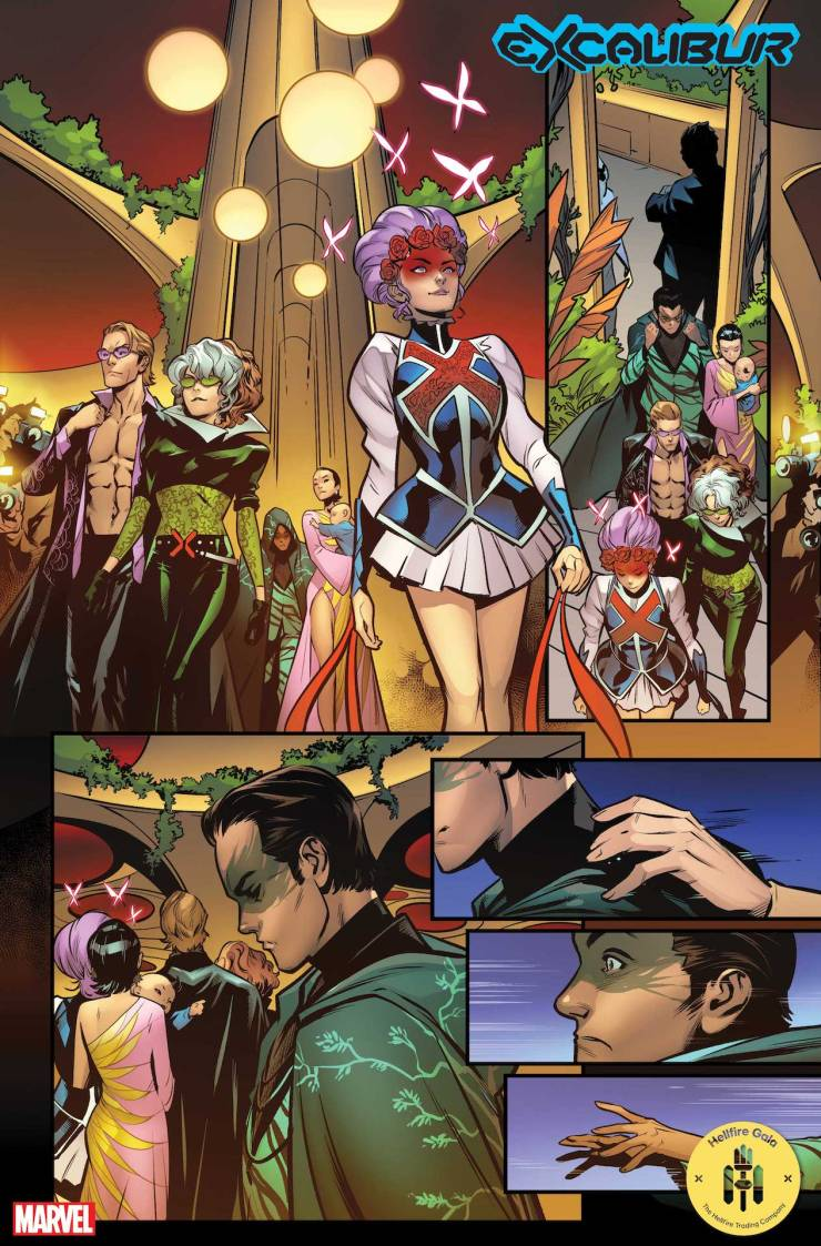 Marvel First Look: Excalibur #21