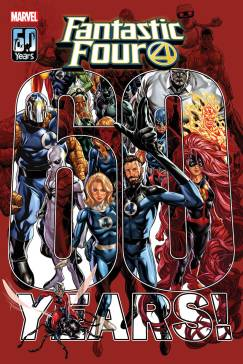August 2021 Marvel Comics solicitations fantastic four