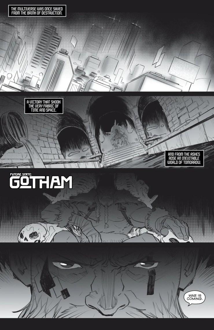 DC  Preview: Future State: Gotham #1