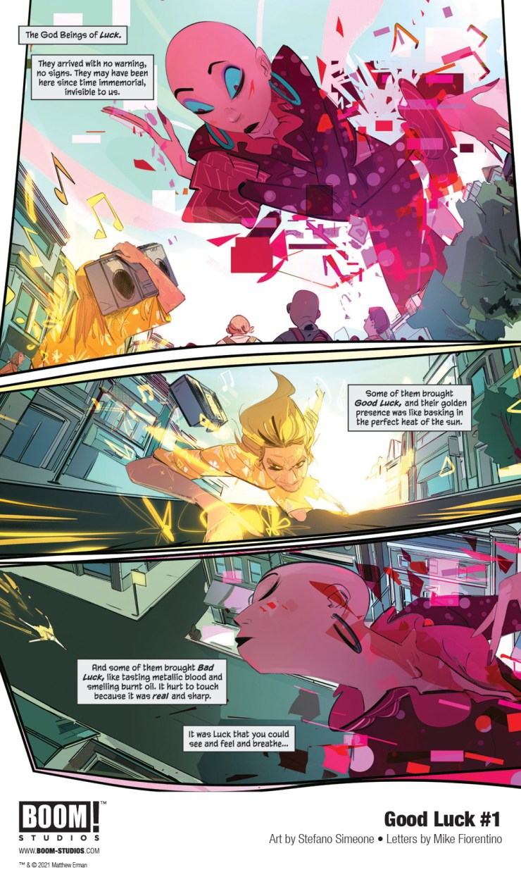 BOOM! Preview: Good Luck #1