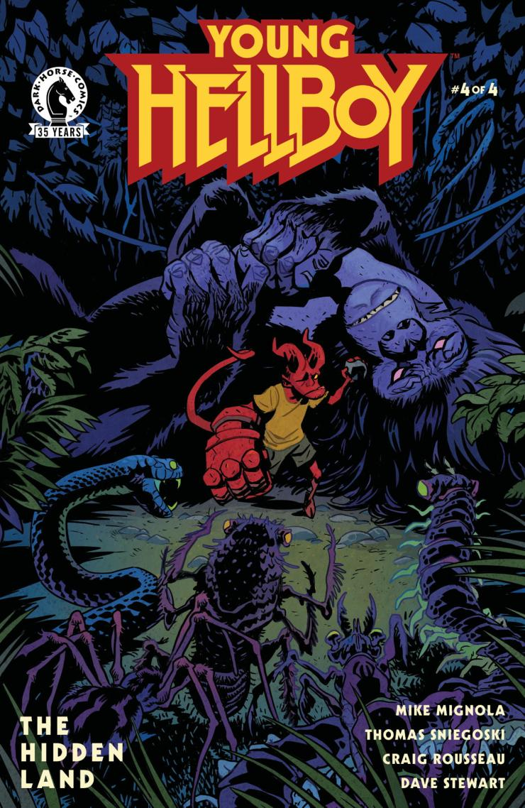 EXCLUSIVE Dark Horse Preview: Young Hellboy #4