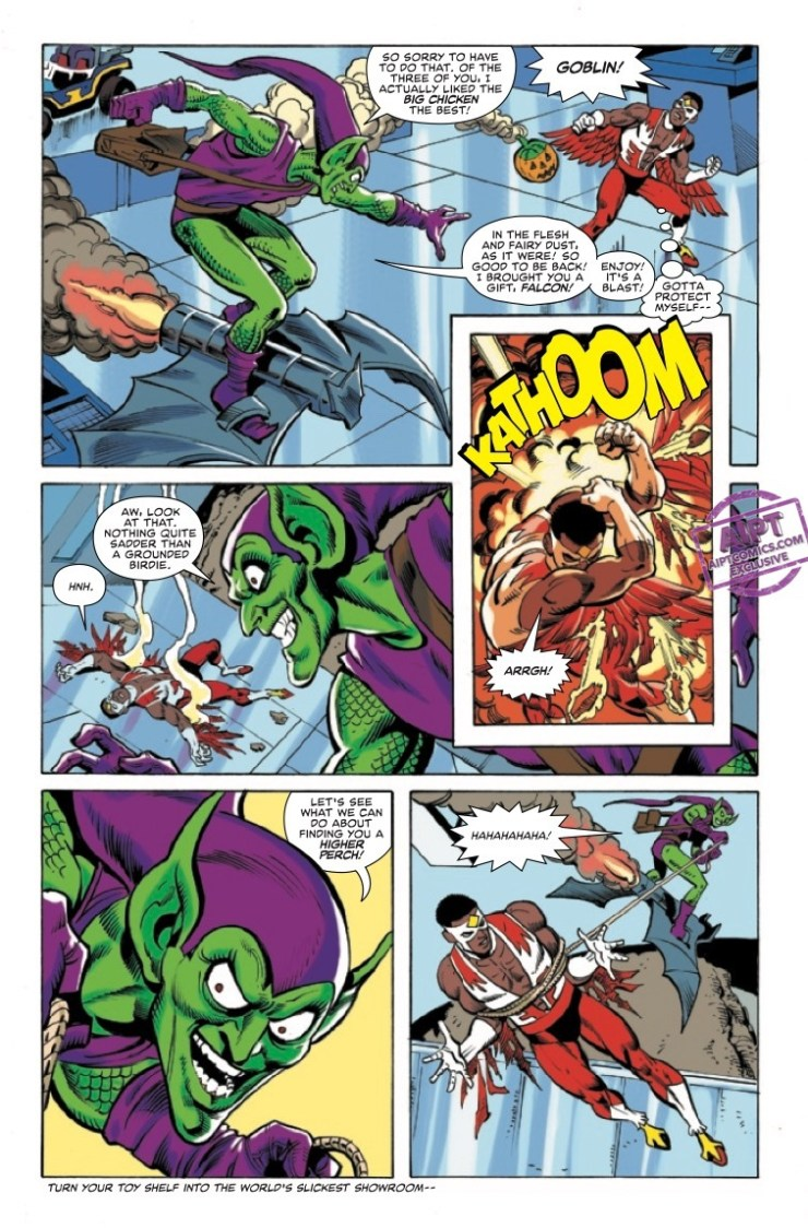Marvel Preview: Heroes Reborn: Marvel Double Action #1