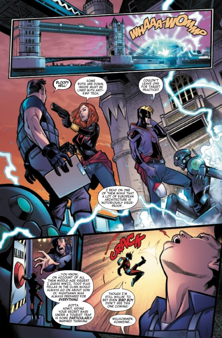 Heroes Reborn: Siege Society #1