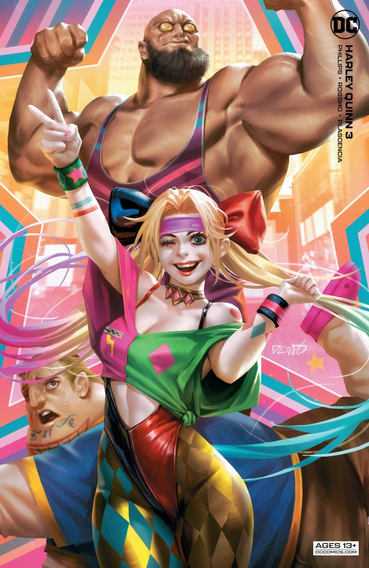 DC Preview: Harley Quinn #3