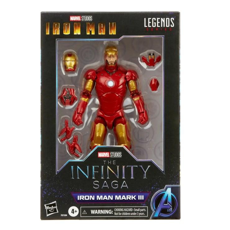 Marvel Legends Iron Man Mark III