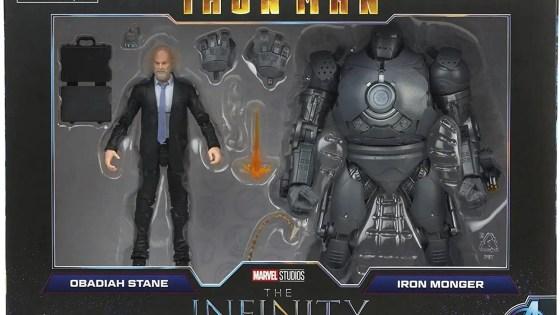Marvel Legends: Iron Monger and Infinity War Captain America revealed
