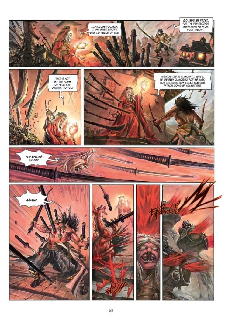 The Mask of Fudo Vol. 3: Fire: Book 2