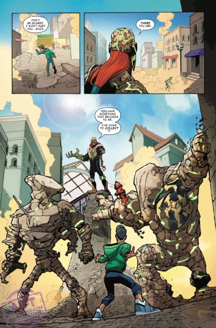 EXCLUSIVE Marvel Preview: Reptil #1