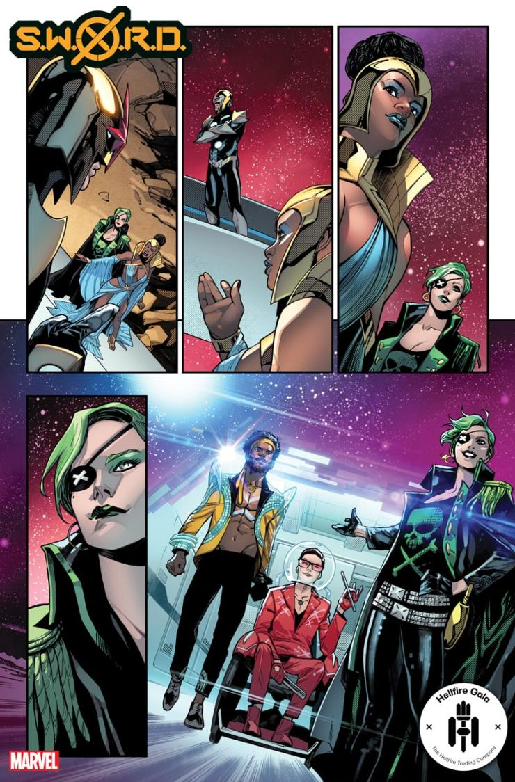 Marvel First Look: S.W.O.R.D. #6