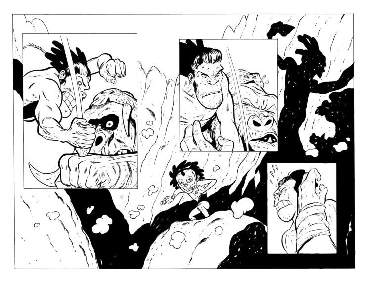 Jeff Smith's new graphic novel 'Tuki' to debut on Kickstarter May 4