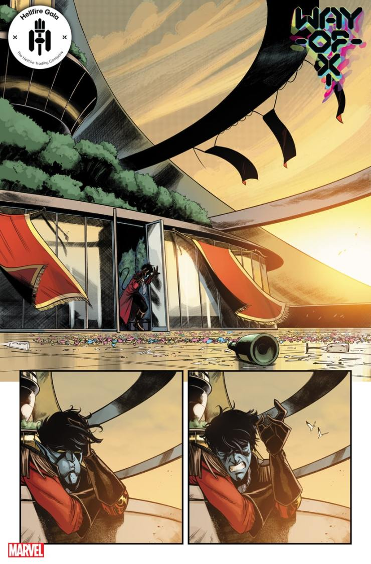 Marvel First Look: Way of X #3