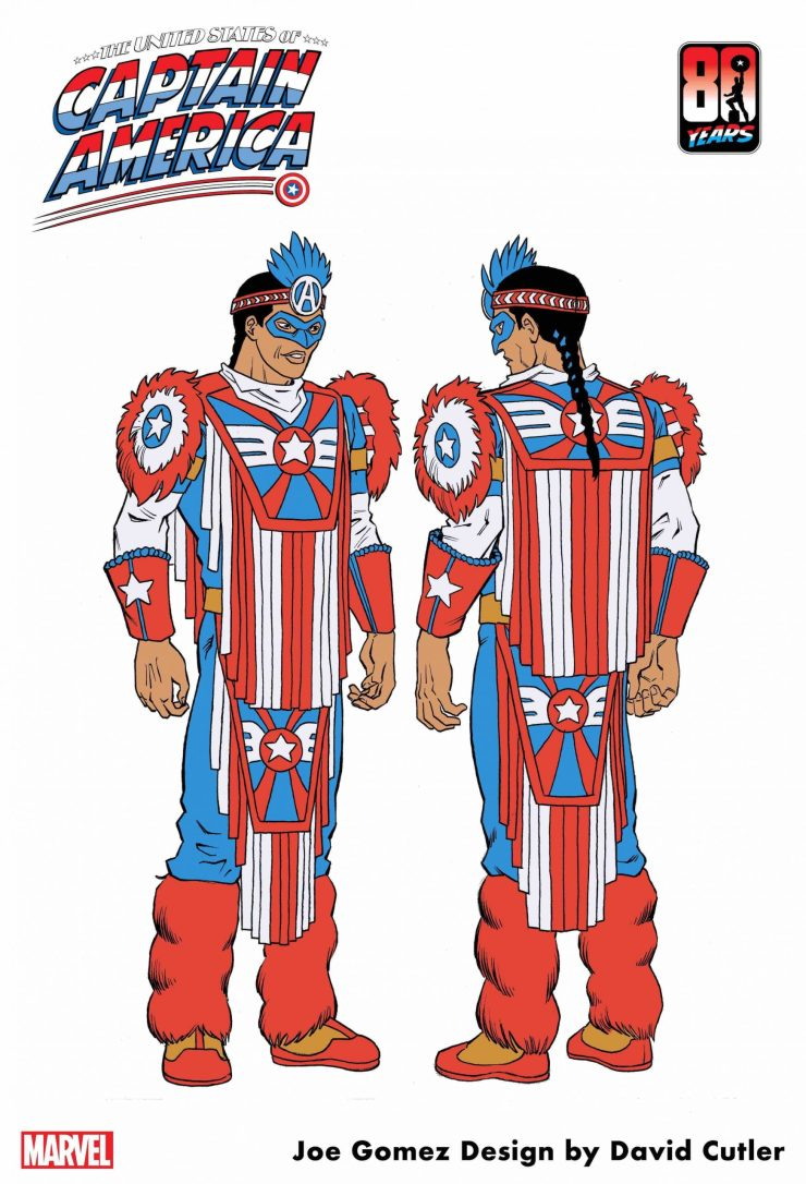 Steve Rogers teams up with Native American shield-bearer in 'The United States of Captain America' #3