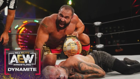 AEW Dynamite - Miro defeats Darby Allin to become TNT Champion