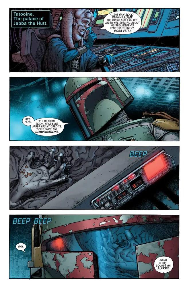 'Star Wars: War of the Bounty Hunters Alpha' #1 is Mortal Kombat in space