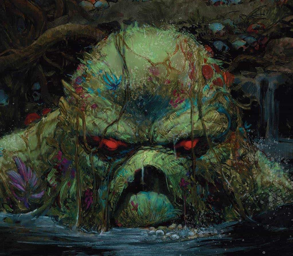The Swamp Thing #4