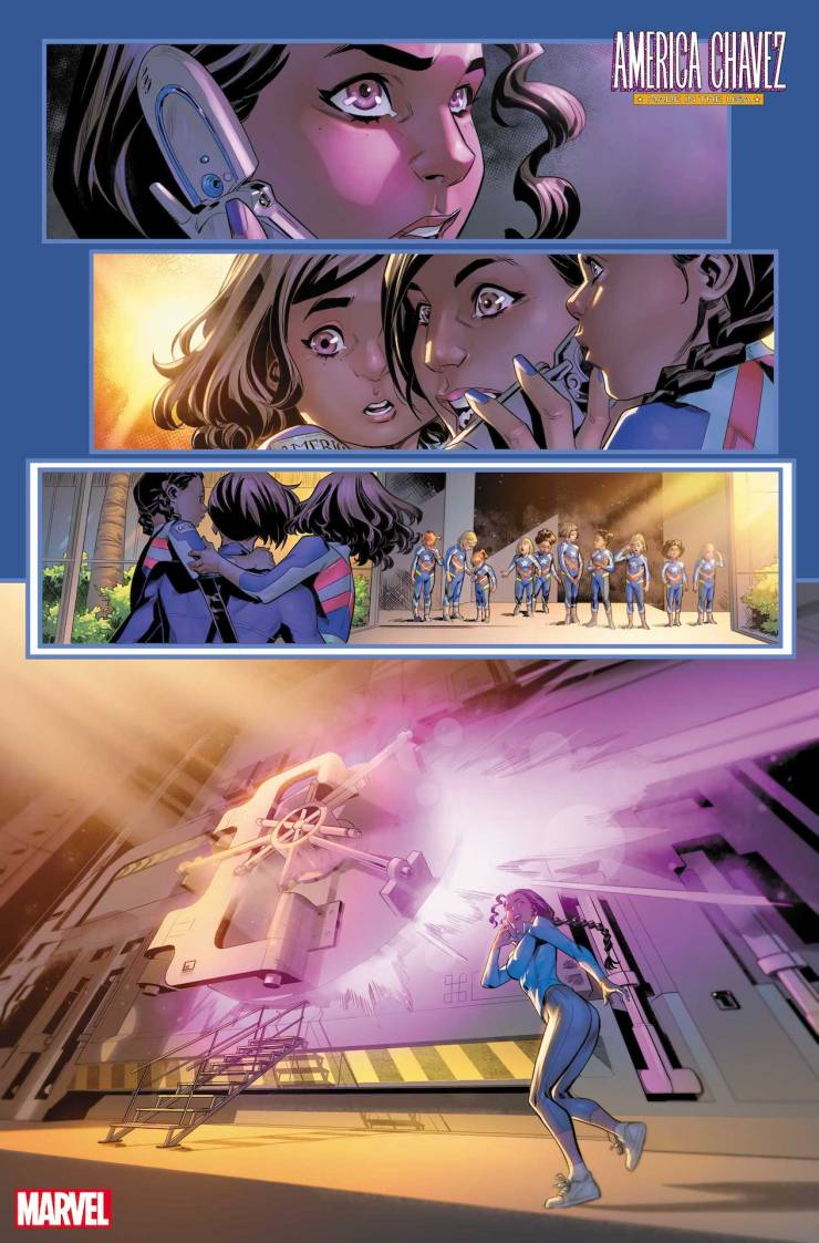 Marvel teases new origin reveals in 'America Chavez: Made in the USA' #4