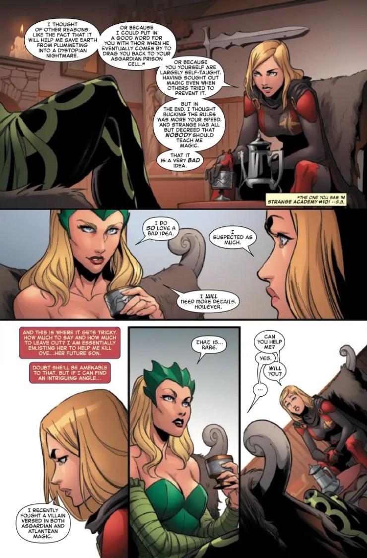 Marvel Preview: Captain Marvel #29
