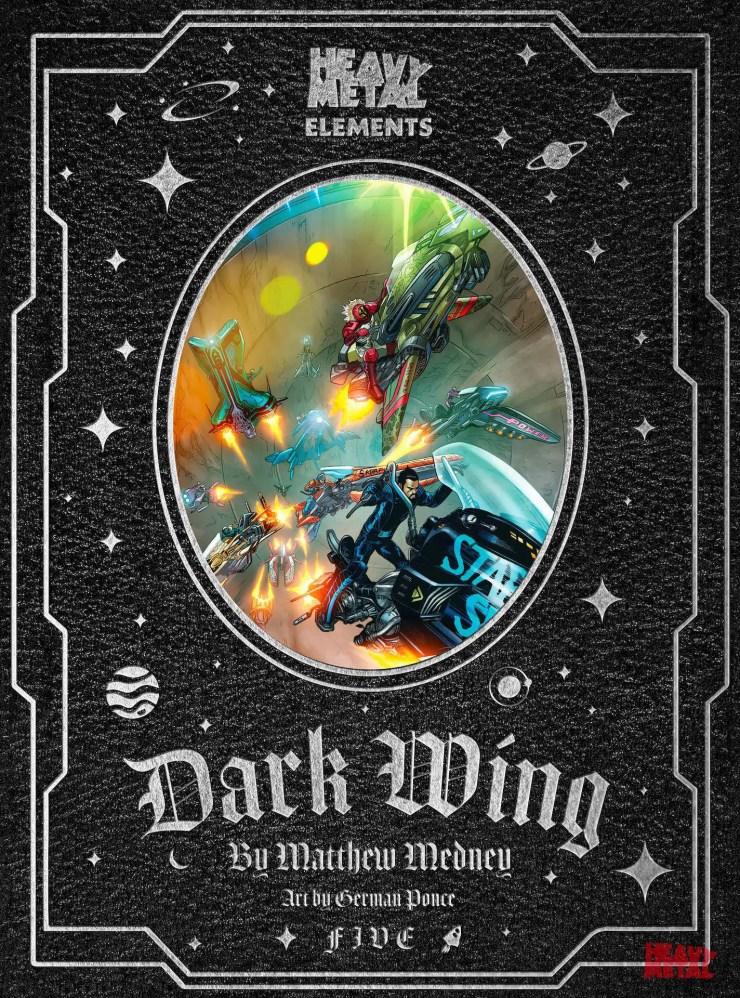 EXCLUSIVE Heavy Metal Preview: Dark Wings #5