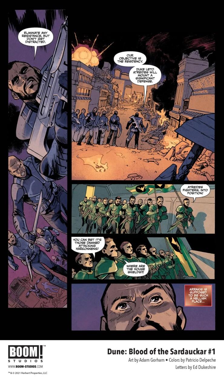 BOOM! Preview: Dune: Blood of the Sardaukar #1
