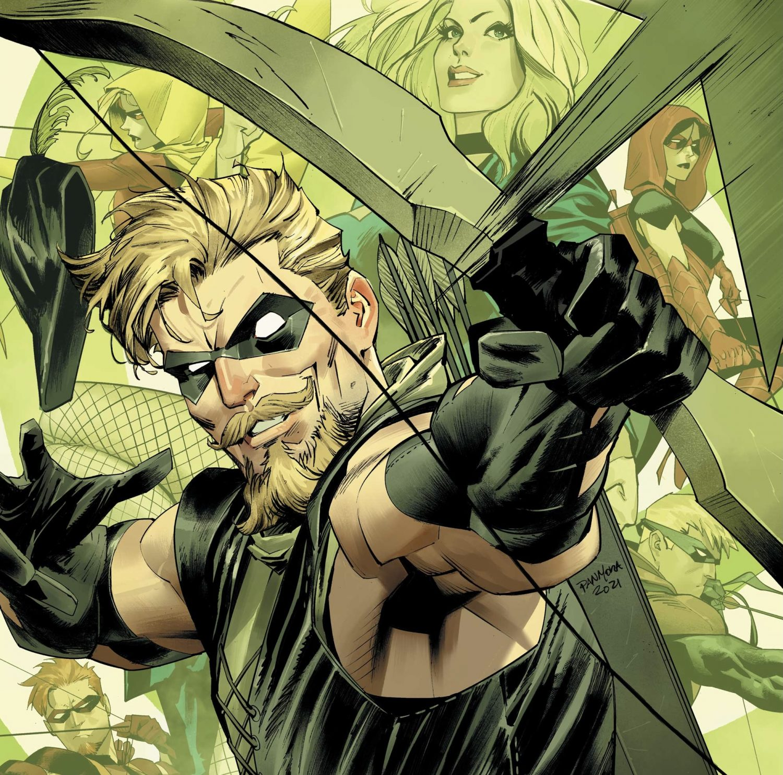 Green Arrow 80th Anniversary Cover