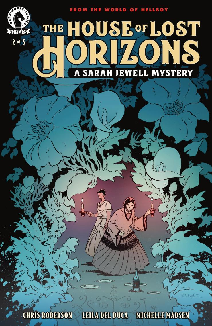 EXCLUSIVE Dark Horse Preview: The House of Lost Horizons: A Sarah Jewell Mystery #2