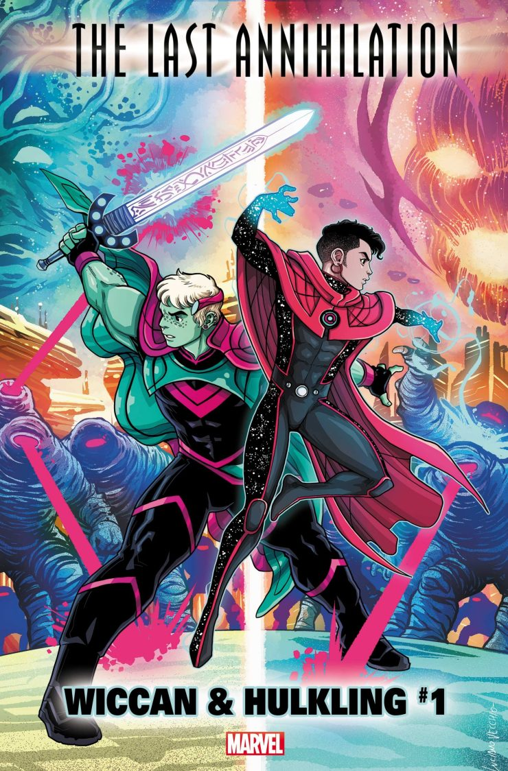 Marvel Comics Solicitations 2021 September Wiccan and Hulkling