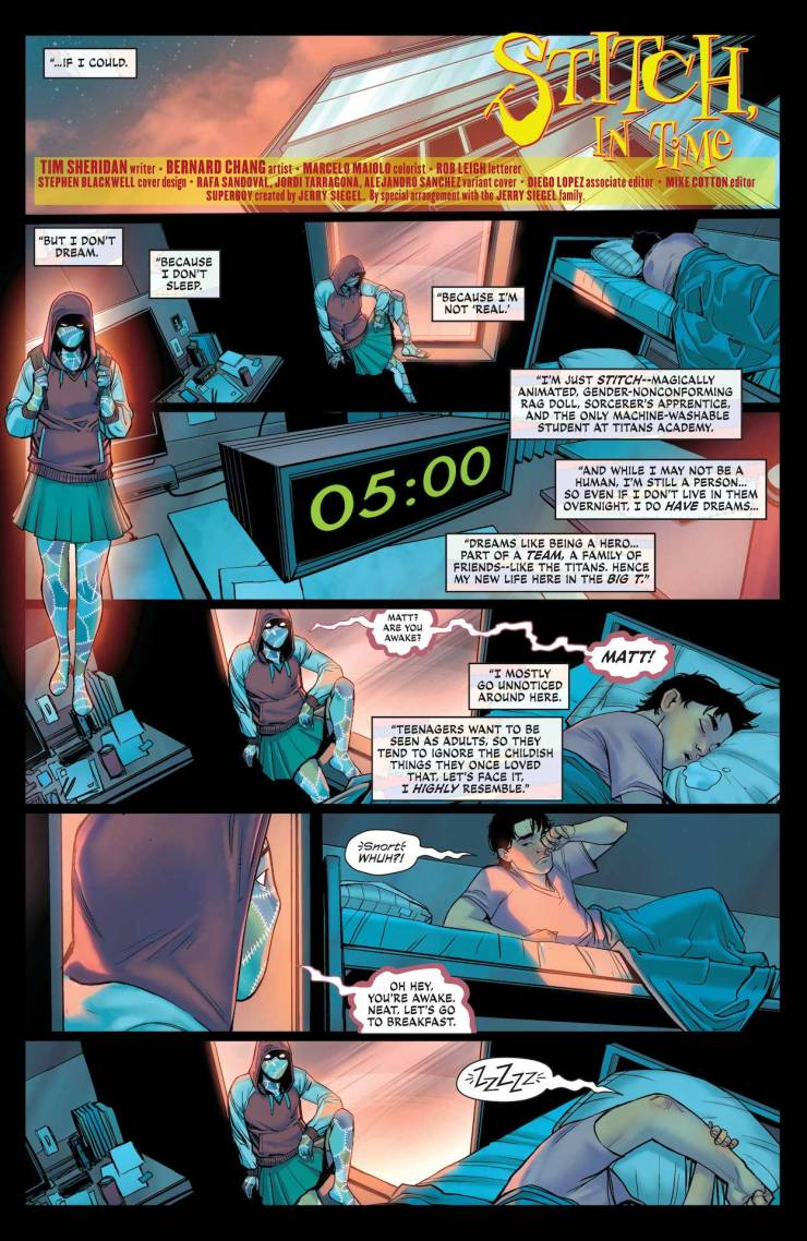 DC Preview: Teen Titans Academy 2021 Yearbook #1