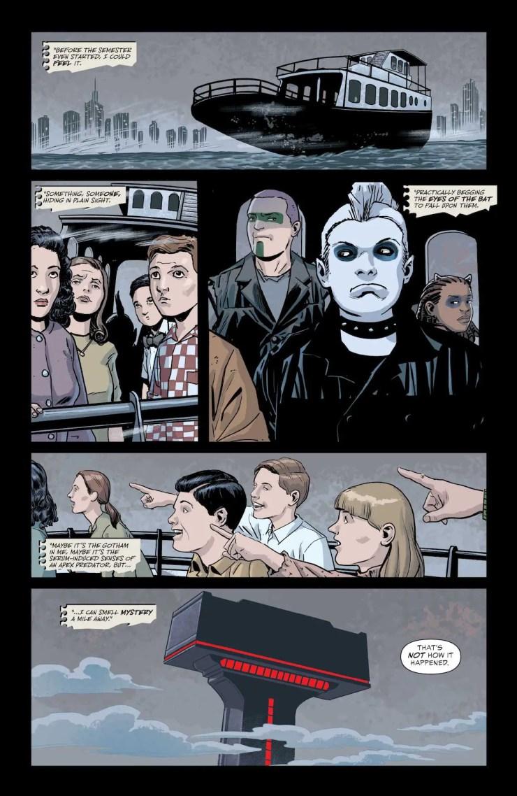 DC Preview: Teen Titans Academy #4