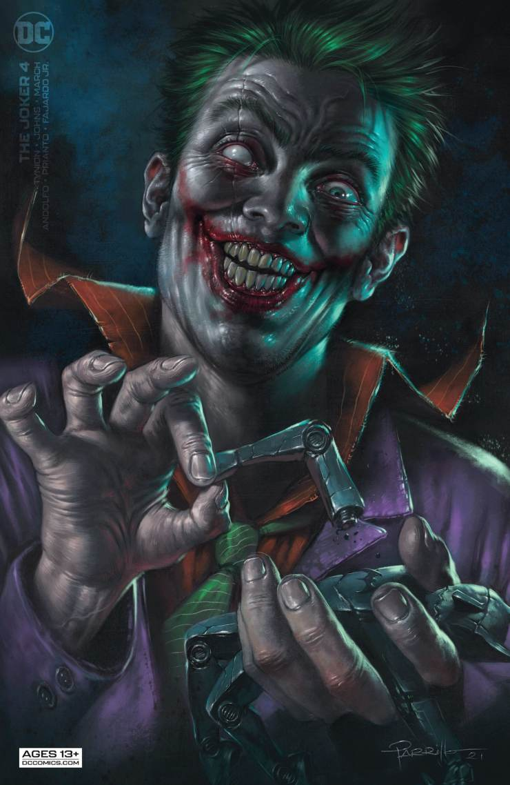 DC Preview: The Joker #4