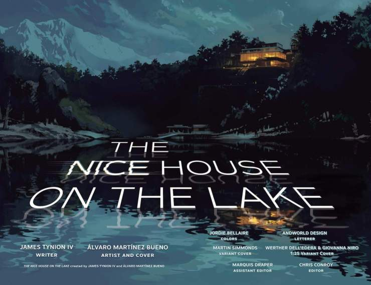 'The Nice House on the Lake' #1 is a showstopper debut issue with a killer twist ending
