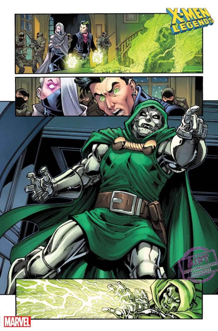 EXCLUSIVE Marvel First Look: X-Men Legends #5