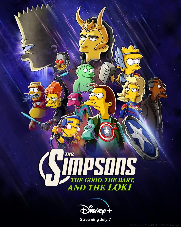 Disney+ announces 'The Simpsons' short 'The Good, The Bart, and The Loki'