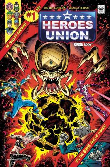 Comics legends Roger Stern and Ron Frenz link up for 'The Heroes Union'