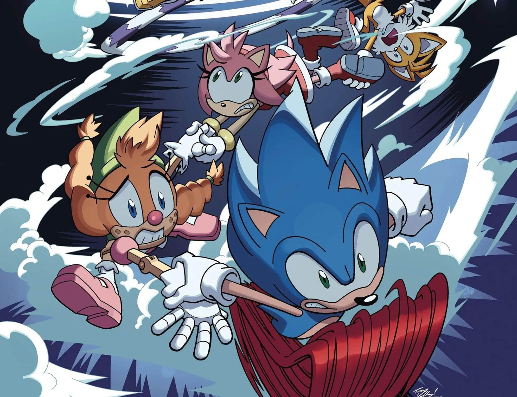 'Sonic the Hedgehog' #40 is quintessential Sonic comics