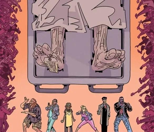 'The Six Sidekicks of Trigger Keaton' #1 kicks off a captivating whodunnit
