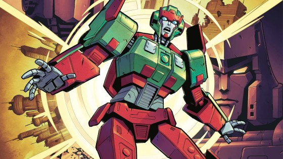 'Transformers' #31 takes us on a wild ride