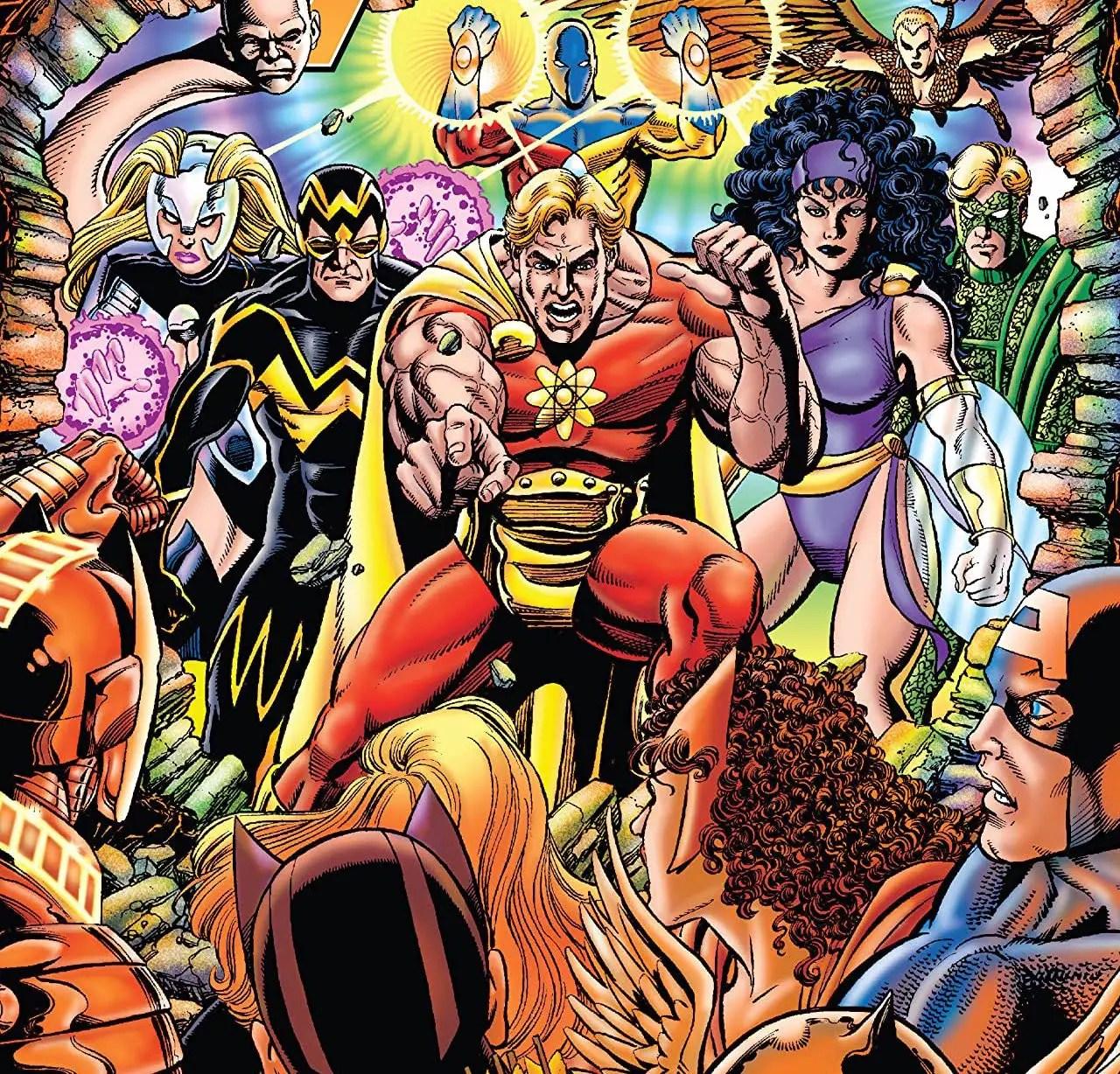'Squadron Supreme vs. Avengers' is great fight comics fun