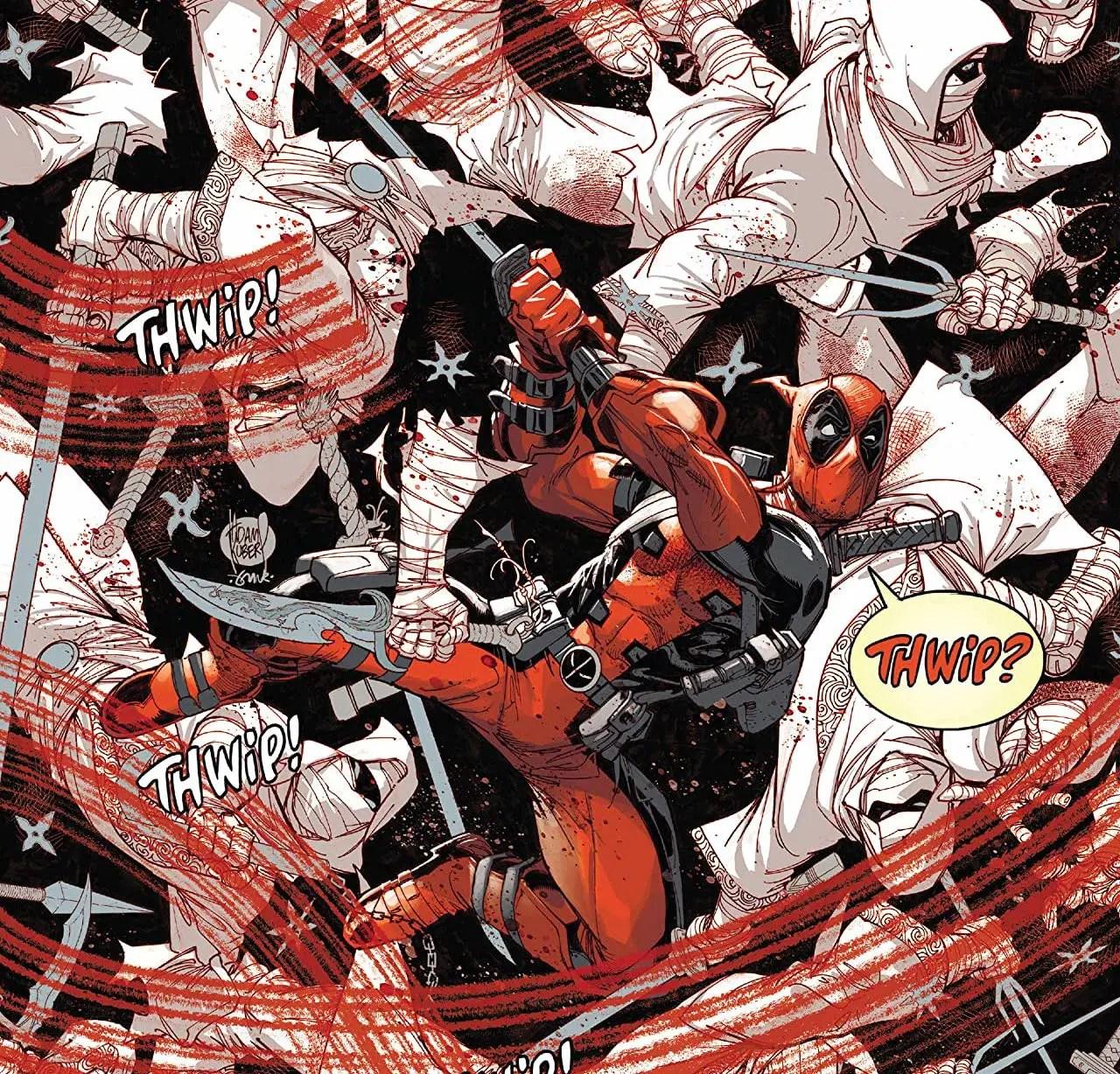 'Deadpool: Black, White & Blood' #1 has plenty of good comedy